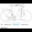 CUBE KATHMANDU HYBRID PRO 625 EASY ENTRY DESERT´N´ORANGE Uniszex Elektromos Trekking Kerékpár 2022