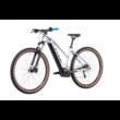 CUBE REACTION HYBRID PERFORMANCE 625 29 TRAPÉZ POLARSILVER´N´BLUE Női Elektromos MTB Kerékpár 2022