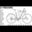 KTM MACINA CROSS 520  2020 Férfi Elektromos Cross Trekking Kerékpár