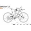 KTM MACINA SPORT 720 EASY ENTRY GREY Uniszex Elektromos Trekking Kerékpár 2022
