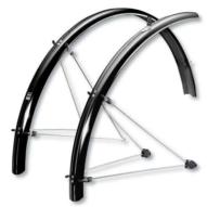 """SKS-Germany ChromoPlastics 26"""" kerékpár sárvédő szett [grafit szürke, 65]"""