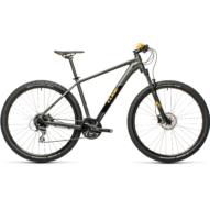 """CUBE AIM RACE DARKGREY´N´ORANGE 27,5"""" Férfi MTB Kerékpár 2021 (CSAK XS MÉRETBEN)"""