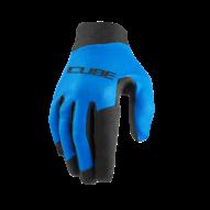 CUBE PERFORMANCE Enduro MTB Kerékpáros Kesztyű Hosszú Ujjú - Blue