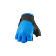 CUBE X NF Kerékpáros Kesztyű Rövid Ujjú - Blue / Black
