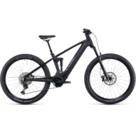 CUBE STEREO HYBRID 120 SL 750 29 BLACK´N´METAL Férfi Elektromos Összteleszkópos MTB Kerékpár 2022