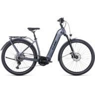 CUBE KATHMANDU HYBRID PRO 625 EASY ENTRY FLASHGREY´N´BLACK Uniszex Elektromos Trekking Kerékpár 2022
