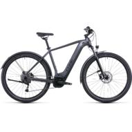 CUBE NURIDE HYBRID PERFORMANCE 625 ALLROAD GRAPHITE´N´BLACK Férfi Elektromos Cross Trekking Kerékpár 2022