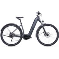 CUBE NURIDE HYBRID PERFORMANCE 625 ALLROAD EASY ENTRY GRAPHITE´N´BLACK Uniszex Elektromos Cross Trekking Kerékpár 2022