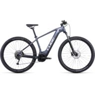 CUBE REACTION HYBRID PERFORMANCE 625 27.5 METALLICGREY´N´WHITE Férfi Elektromos MTB Kerékpár 2022