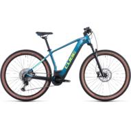 CUBE REACTION HYBRID RACE 625 29 BLUE´N´LIME Férfi Elektromos MTB Kerékpár 2022