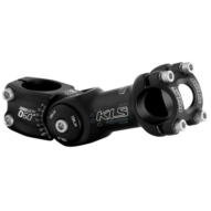 Kormányszár KLS CROSS black, Oversize 31,8mm, 110mm
