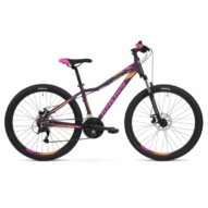 "KROSS LEA 3.0 27,5"" purpure / pink / orange 2022 NŐI MTB KERÉKPÁR"