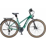 KTM MACINA STYLE 620 TRAPÉZ racing green (silver+copper) Női Elektromos Trekking Kerékpár 2021