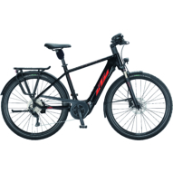 KTM MACINA TOUR P 610 metallic black (fire orange) Férfi Elektromos Trekking Kerékpár 2021