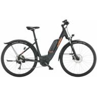 KTM MACINA CROSS P 510 STREET BLACK Uniszex Elektromos Cross Trekking Kerékpár 2022