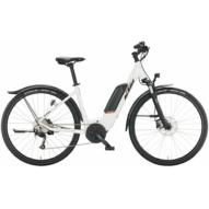 KTM MACINA CROSS P 510 STREET WHITE Uniszex Elektromos Cross Trekking Kerékpár 2022
