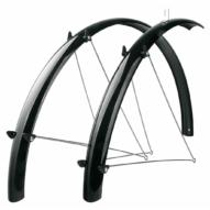"""SKS-Germany Fender Set 28"""" kerékpár sárvédő szett [fekete, 56 mm]"""