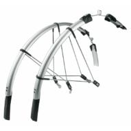 SKS-Germany Raceblade Long kerékpár sárvédő szett [ezüst]