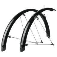 """SKS-Germany Bluemels Trekking 28"""" kerékpár sárvédő szett [fekete, 45 mm]"""
