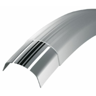 """SKS-Germany ChromoPlastics 28"""" kerékpár sárvédő szett [ezüst, 45 mm]"""