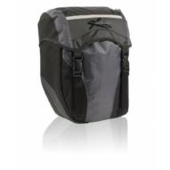 Kerékpár Táska csomagtartóra kétoldali 600D poliészter fekete 30 liter BA-S40