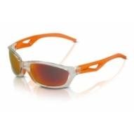 Kerékpár Napszemüveg Saint-Denis szürke keret, narancs tükr.lencse SG-C14