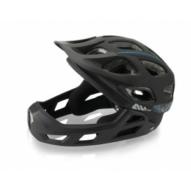 Kerékpáros Sisak/Fejvédő XLC All MTN Full Face L/XL (54-60cm) fekete BH-F05