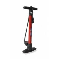 Kerékpár Pumpa Delta állópumpa 11 bar, kettos fej, piros PU-S04