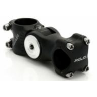 Kerékpár Kormányszár A-Head alu fekete 1 1/8 25,4mm, -40/+40 fok, 128 mm ST-M02