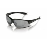 Kerékpár Napszemüveg Palermo szemüvegeseknek fekete keret, füstsz.tükr.lencse SG-C15