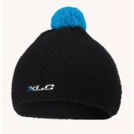 Kerékpár Sapka XLC kötött fekete-kék