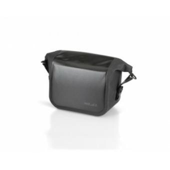 Kormánytáska vízálló, fekete, 22x18x11cm