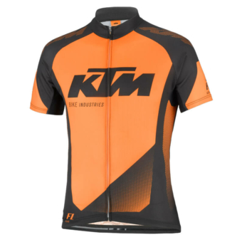 KTM FACTORS LINE JERSEY BLAC- ORANGE MEZ