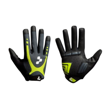 CUBE GLOVES NF TOUCH LF ANTHRACITE /LIME