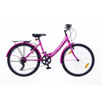 """Neuzer Cindy City 24"""" Gyermek Kerékpár Több színben"""