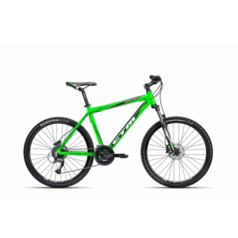 """CTM TERRANO 3.0 MATT REFLEX ZÖLD-FEKETE 2016 26"""" MTB Kerékpár"""
