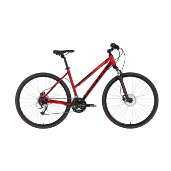 Kellys Clea 90 Dark Red női cross trekking kerékpár 2020