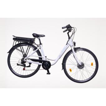 Neuzer E-Trekking női Zagon MXUS 19' fehér Elektromos kerékpár