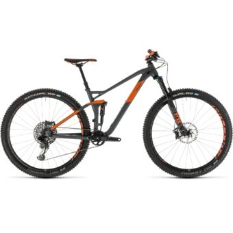 CUBE STEREO 120 TM 29 Férfi Összteleszkópos MTB Kerékpár 2019
