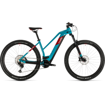 CUBE REACTION HYBRID EXC 625 29 TRAPÉZ Női Elektromos MTB Kerékpár 2020 - Több Színben