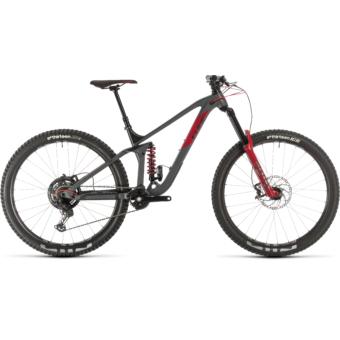 CUBE STEREO 170 TM 29 Férfi Összteleszkópos MTB Kerékpár 2020