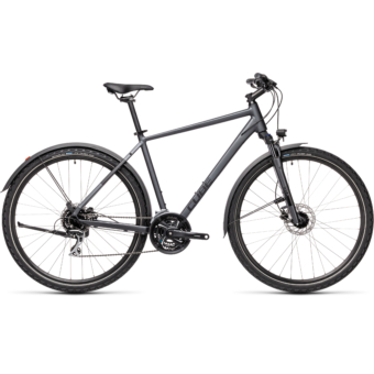 "CUBE NATURE ALLROAD IRIDIUM´N´BLACK 28"" 2021"