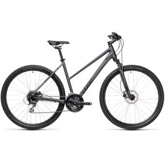 """CUBE NATURE IRIDIUM´N´BLACK 28"""" TRAPÉZ Női Cross Trekking Kerékpár 2021"""