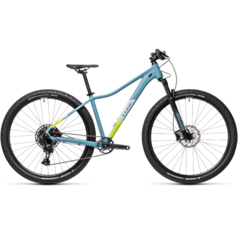 "CUBE ACCESS WS SL GREYBLUE´N´LIME 27,5"" 2021"
