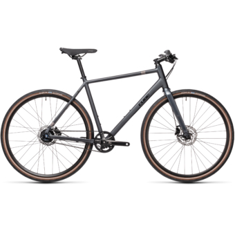 "CUBE HYDE RACE IRIDIUM´N´BLACK 28"" 2021"