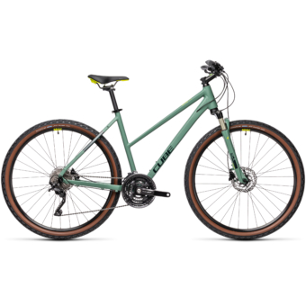 "CUBE NATURE EXC GREEN´N´BLUEGREEN 28"" TRAPÉZ 2021"