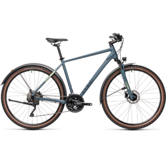 "CUBE NATURE PRO ALLROAD BLUE´N´GREEN 28"" 2021"