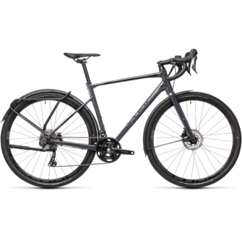 "CUBE NUROAD RACE FE GREY´N´BLACK 28"" 2021"