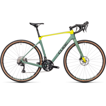 "CUBE NUROAD C:62 RACE GREEN´N´LIME 28"" 2021"