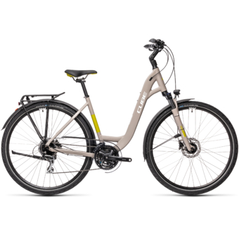 "CUBE TOURING PRO GREY´N´GREEN 28"" EASY ENTRY 2021"